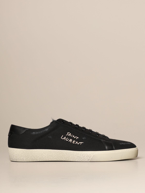 Trainers Saint Laurent: Shoes men Saint Laurent black 1