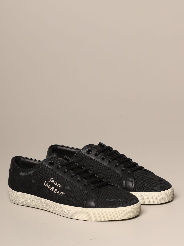 Trainers Saint Laurent: Shoes men Saint Laurent black 2