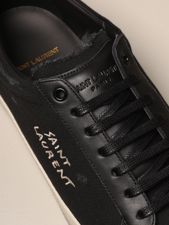 Trainers Saint Laurent: Shoes men Saint Laurent black 4