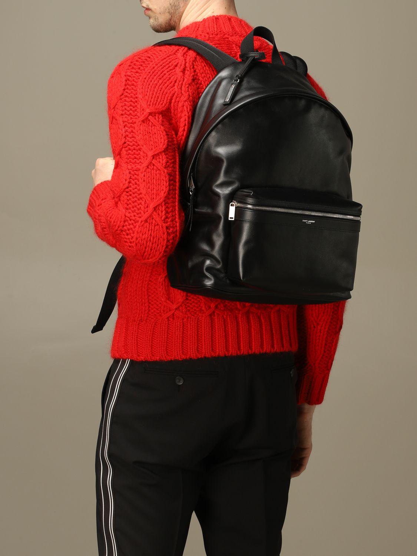 Mochila Saint Laurent: Bolso hombre Saint Laurent negro 2