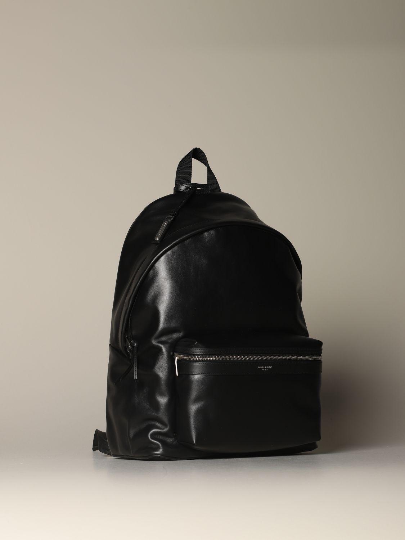 Mochila Saint Laurent: Bolso hombre Saint Laurent negro 4