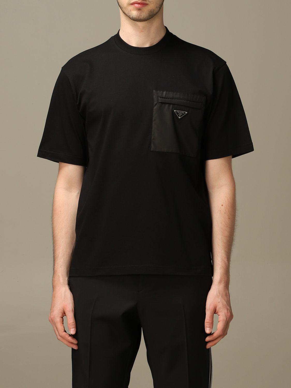 T-shirt Prada: T-shirt men Prada black 1