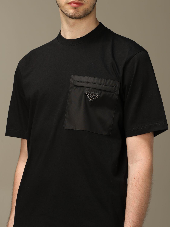 T-shirt Prada: T-shirt men Prada black 4