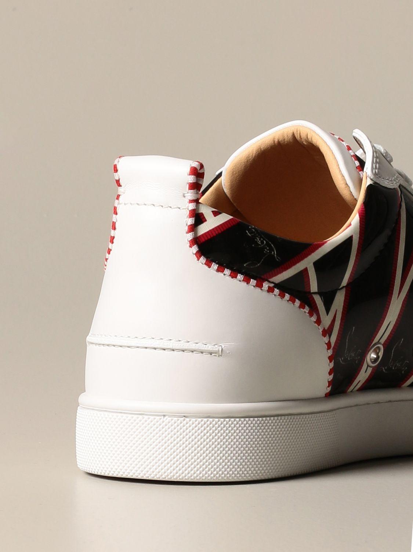 Sneakers Christian Louboutin: Louis Junior Christian Louboutin sneakers in leather with logo print black 3