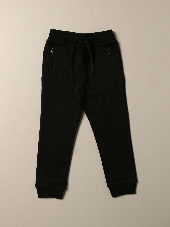 Pantalone Dolce & Gabbana: Pantalone jogging Dolce & Gabbana con logo nero 1