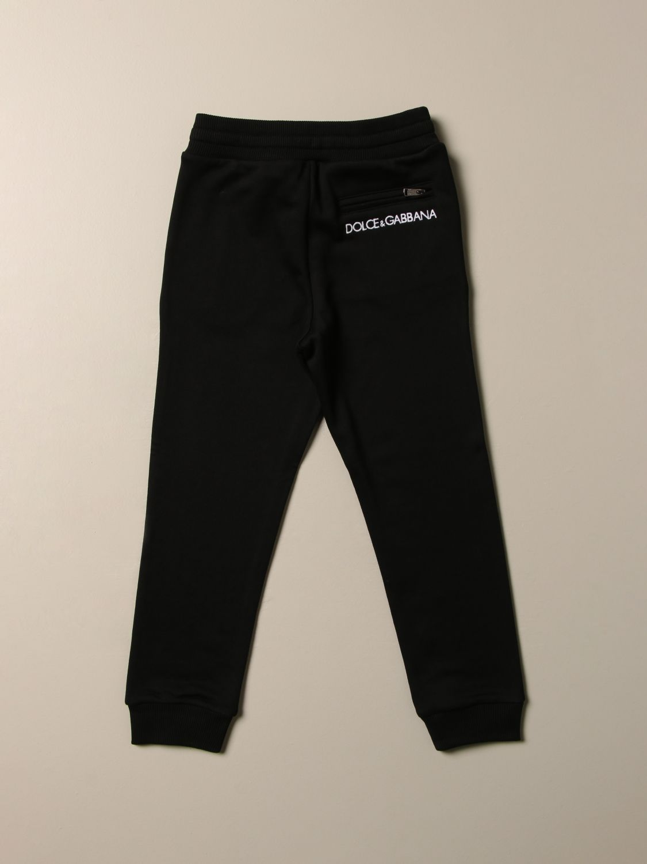Pantalone Dolce & Gabbana: Pantalone jogging Dolce & Gabbana con logo nero 2