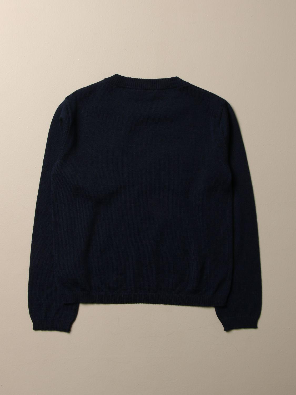 Sweater Dolce & Gabbana: Dolce & Gabbana crewneck sweatshirt with D&G logo blue 2