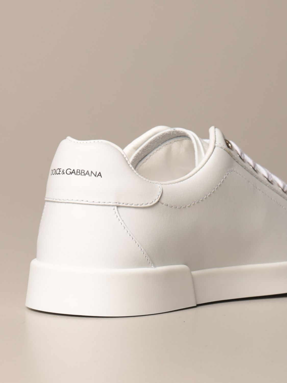 Scarpe Dolce & Gabbana: Sneakers Dolce & Gabbana in pelle di vitello bianco 3