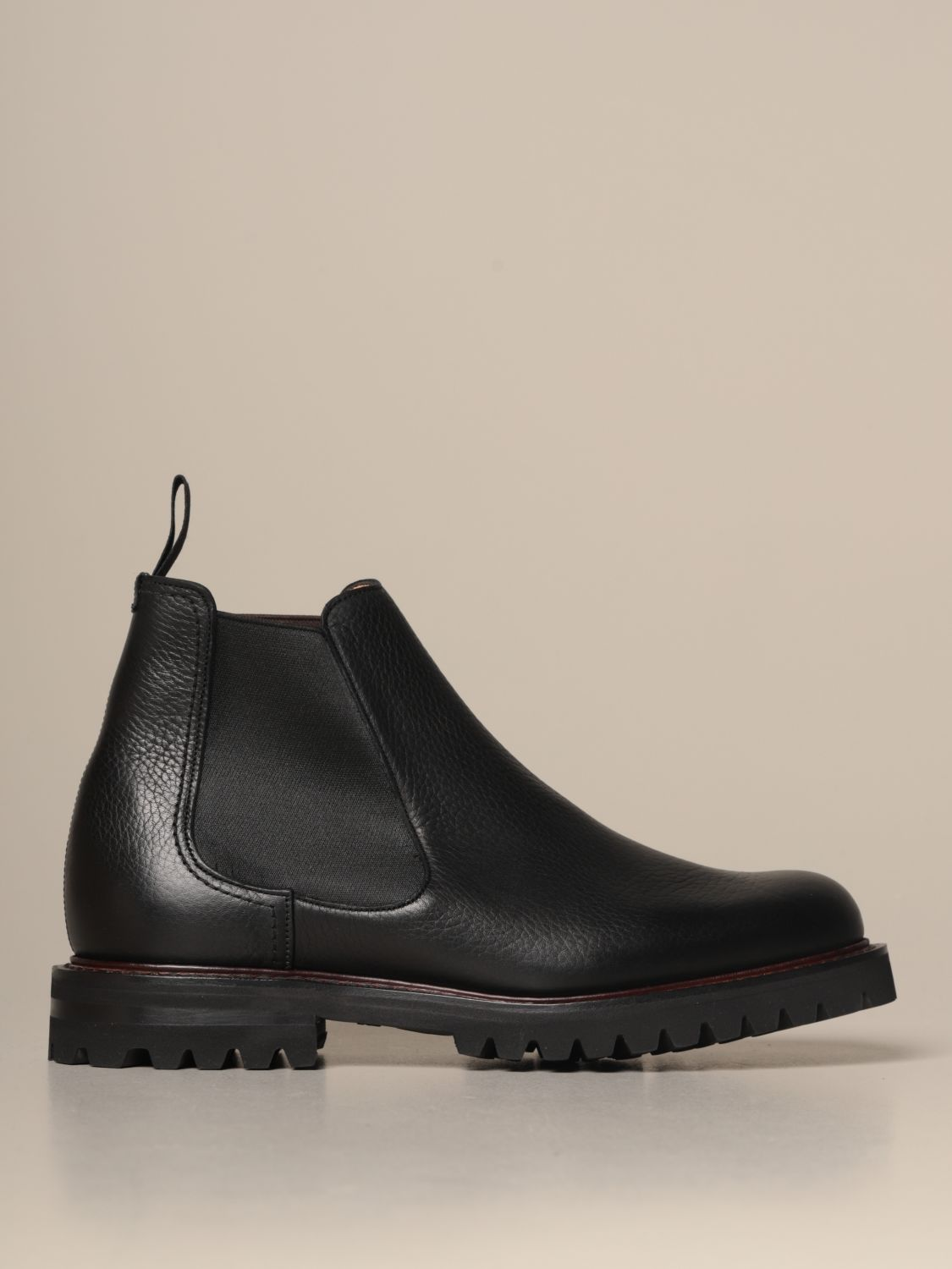 Boots Church's: Church's Chelsea boot in grained leather black 1
