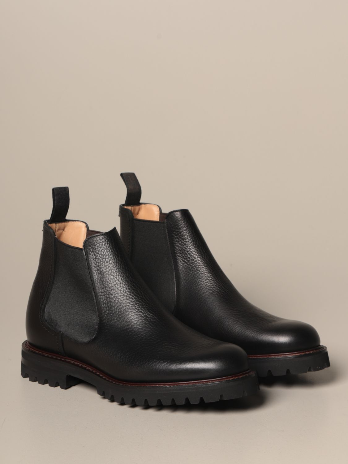 Boots Church's: Church's Chelsea boot in grained leather black 2