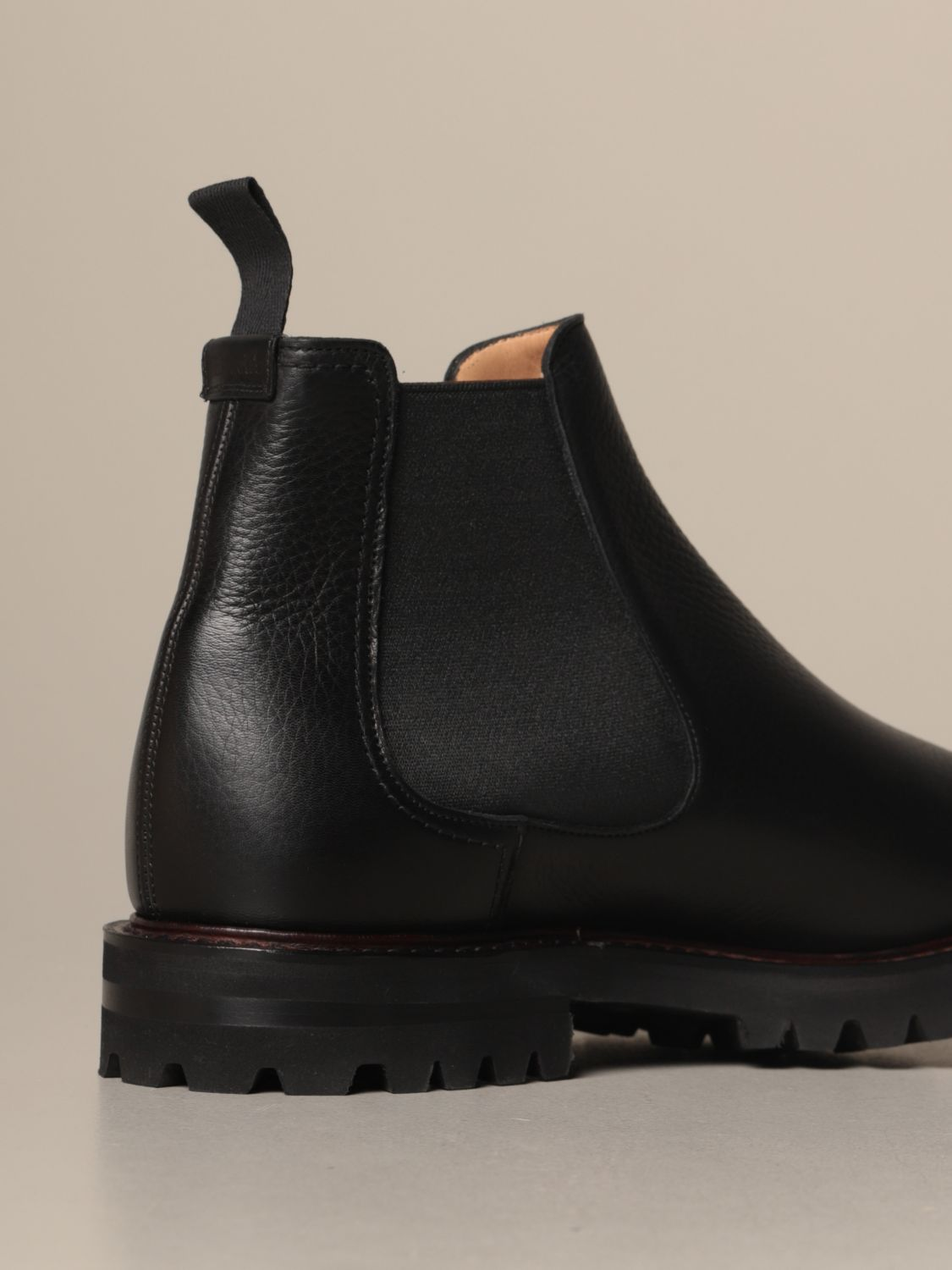 Boots Church's: Church's Chelsea boot in grained leather black 3