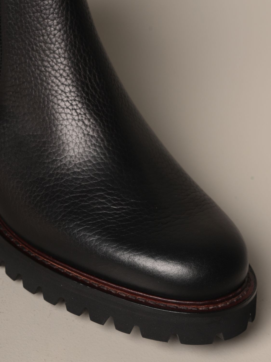 Boots Church's: Church's Chelsea boot in grained leather black 4