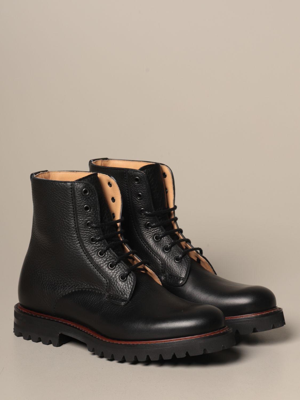 Chukka boots Church's: Church's Coalport amphibian in hammered leather black 2