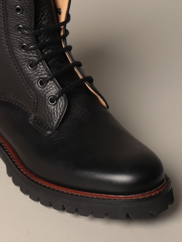 Chukka boots Church's: Church's Coalport amphibian in hammered leather black 4