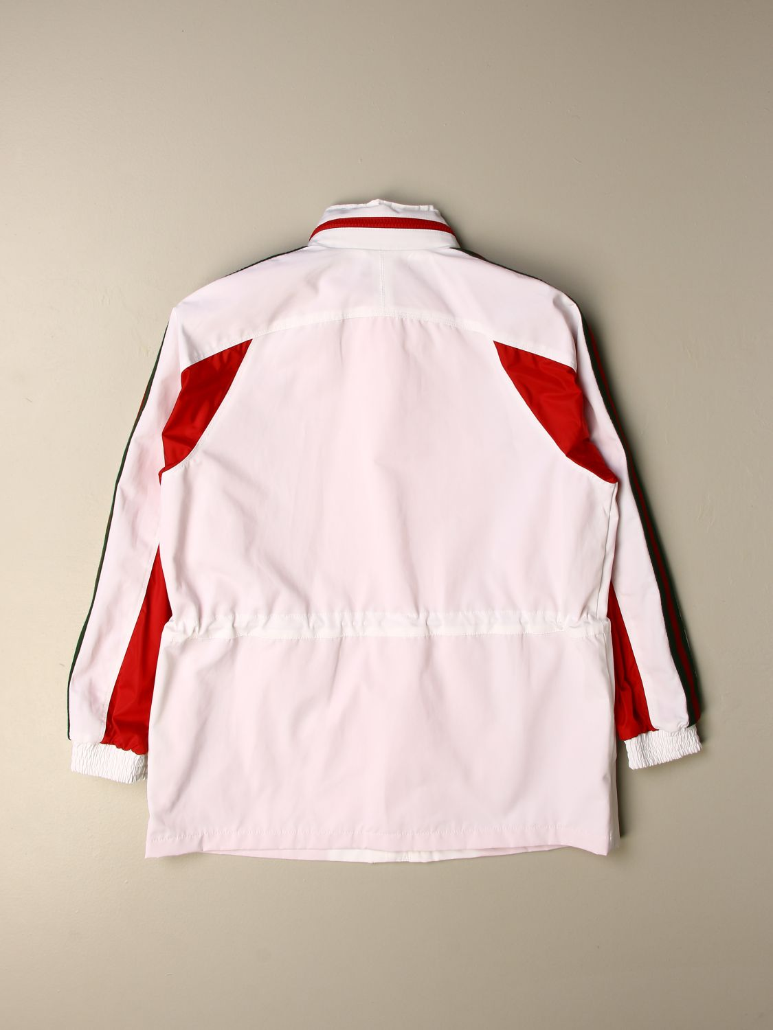 Jacket Gucci: Gucci nylon jacket with hood white 2