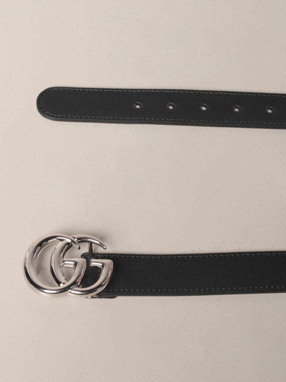 Belt Gucci: Belt kids Gucci black 2
