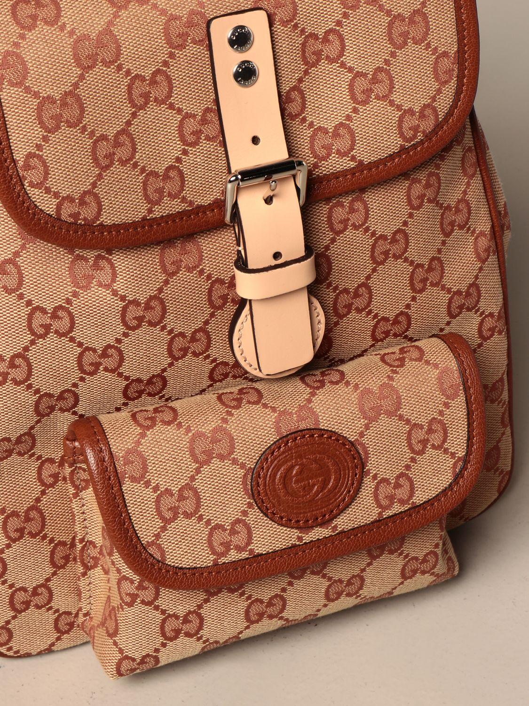 Chaqueta Gucci: Bolso niños Gucci marrón 3