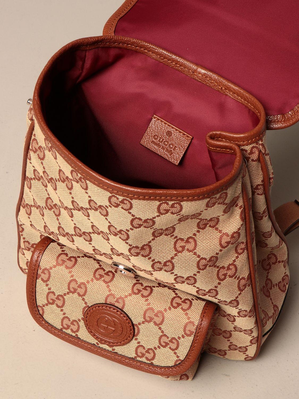 Chaqueta Gucci: Bolso niños Gucci marrón 4