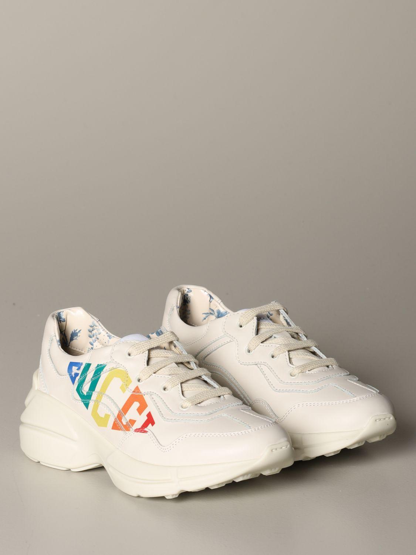 Zapatos Gucci: Zapatos niños Gucci blanco 2