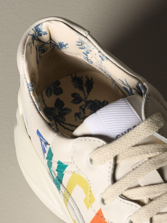 Zapatos Gucci: Zapatos niños Gucci blanco 3