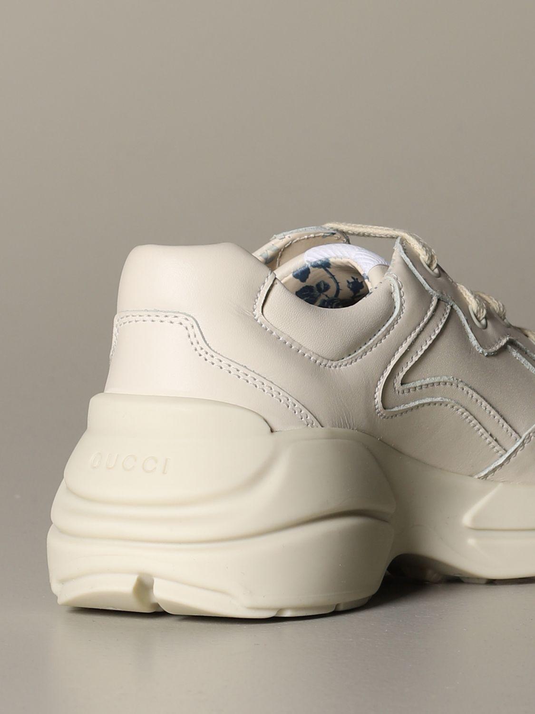 Zapatos Gucci: Zapatos niños Gucci blanco 4