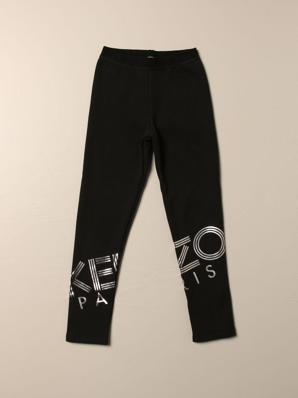 裤子 Kenzo Junior: 裤子 儿童 Kenzo Junior 黑色 1