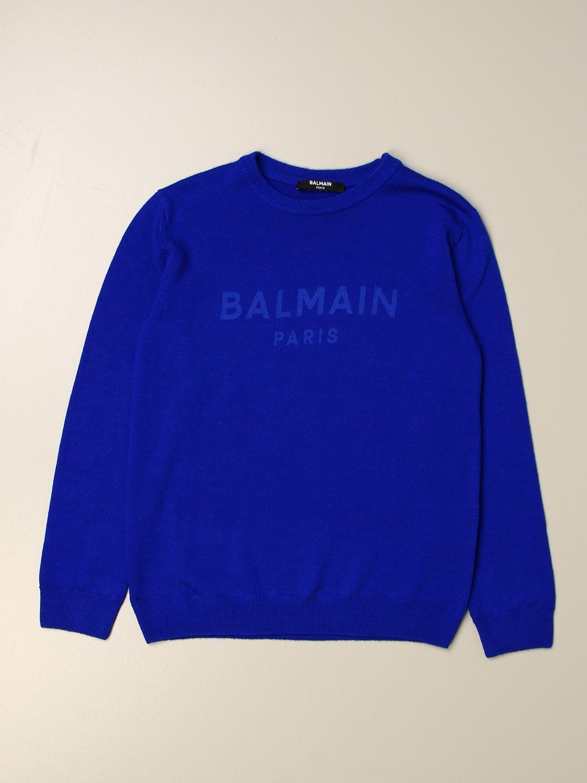Jersey Balmain: Jersey niños Balmain royal blue 1