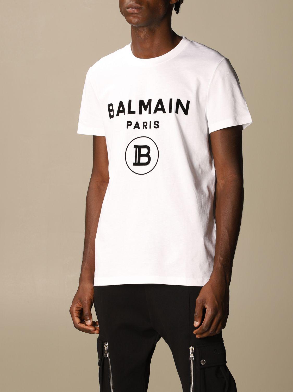 Футболка Balmain: Футболка Мужское Balmain белый 4