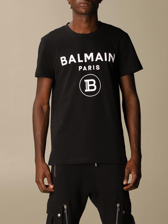 Футболка Balmain: Футболка Мужское Balmain черный 1