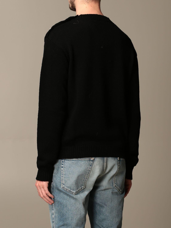 Pullover Balmain: Pullover herren Balmain schwarz 2