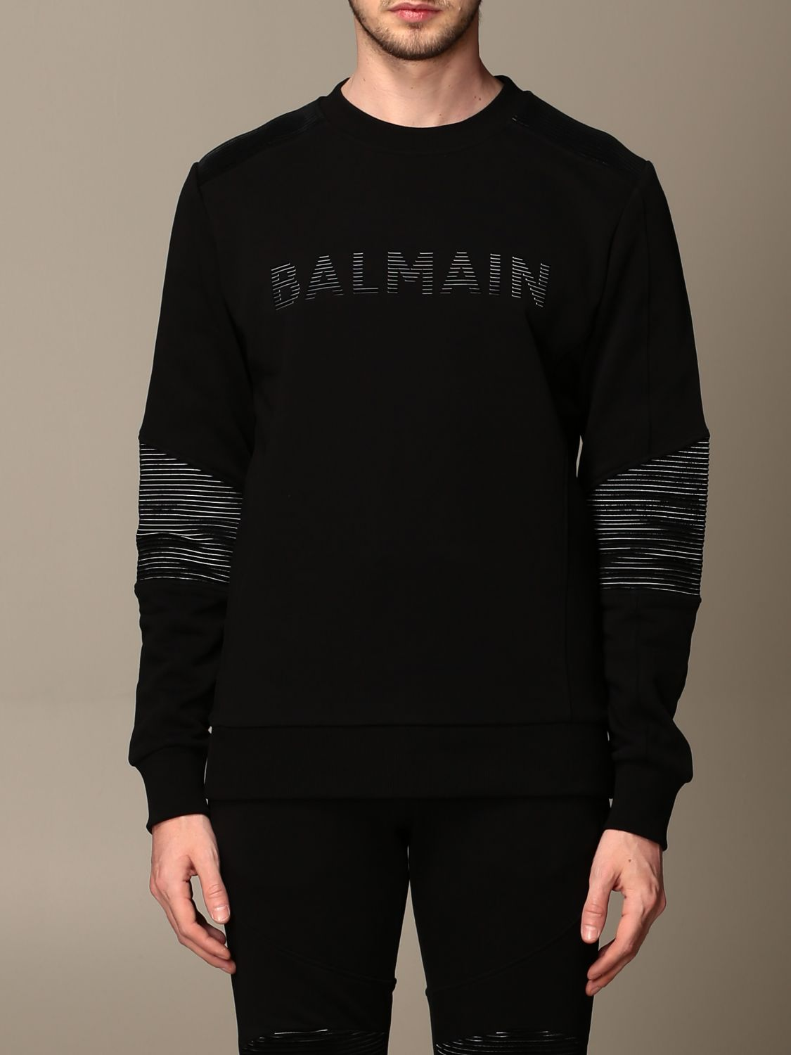 Sweatshirt Balmain: Sweatshirt men Balmain black 1