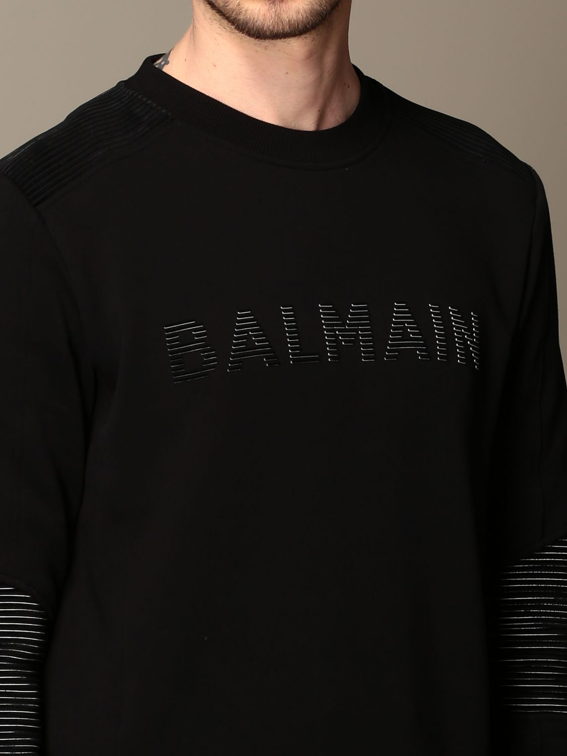 Sweatshirt Balmain: Sweatshirt men Balmain black 5