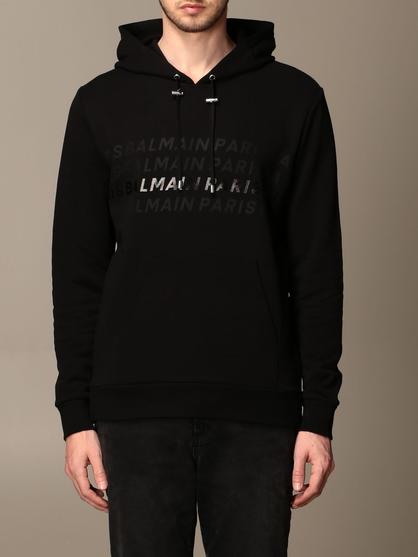 Sweatshirt Balmain: Sweatshirt men Balmain black 1