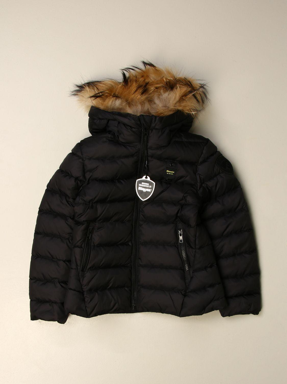 Куртка Blauer: Куртка Детское Blauer черный 1