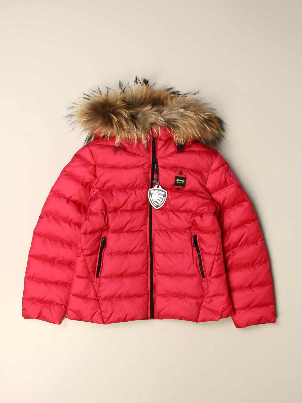 Куртка Blauer: Куртка Детское Blauer клубника 1