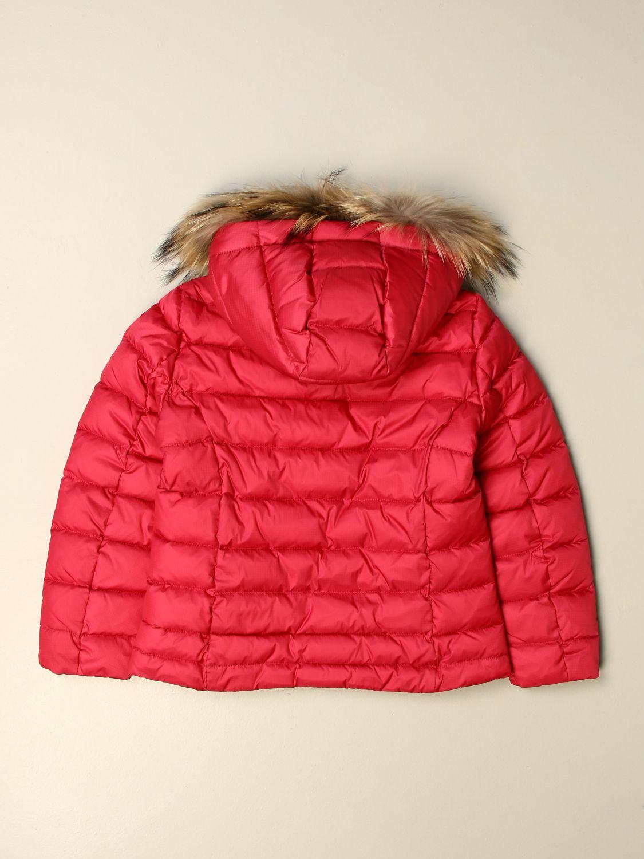 Куртка Blauer: Куртка Детское Blauer клубника 2