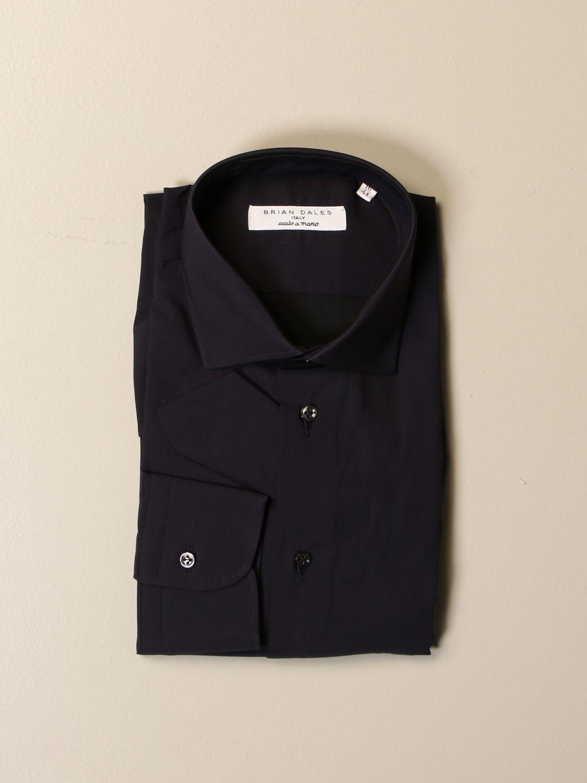Рубашка Brian Dales Camicie: Рубашка Мужское Brian Dales Camicie синий 1