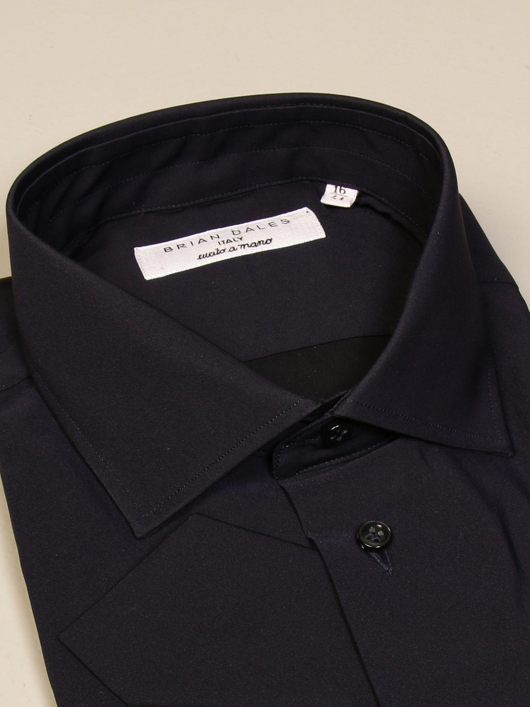 Рубашка Brian Dales Camicie: Рубашка Мужское Brian Dales Camicie синий 2