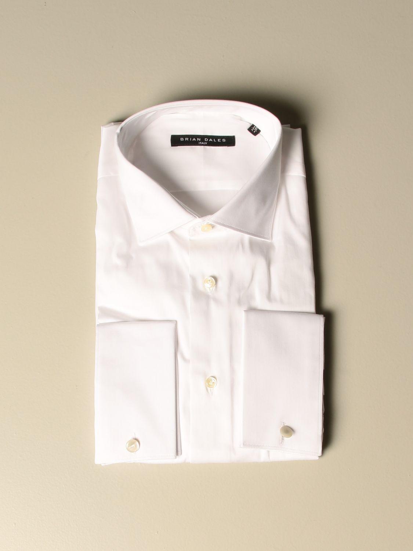 Рубашка Brian Dales Camicie: Рубашка Мужское Brian Dales Camicie белый 1