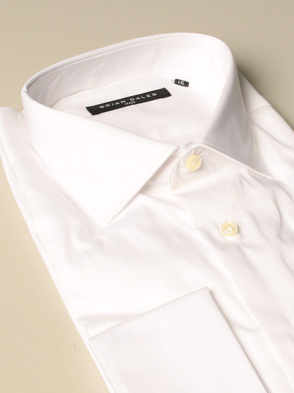 Рубашка Brian Dales Camicie: Рубашка Мужское Brian Dales Camicie белый 2