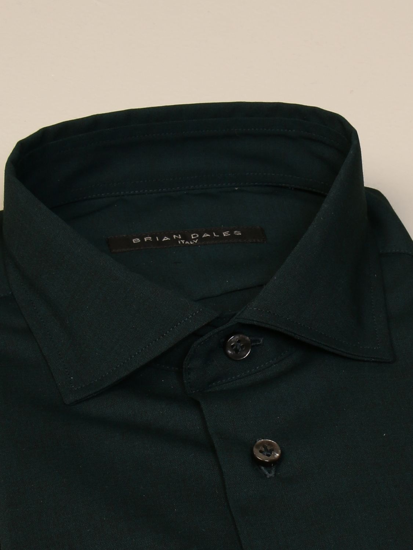 Camicia Brian Dales Camicie: Camicia Brian Dales Camicie in lana stretch verde 2