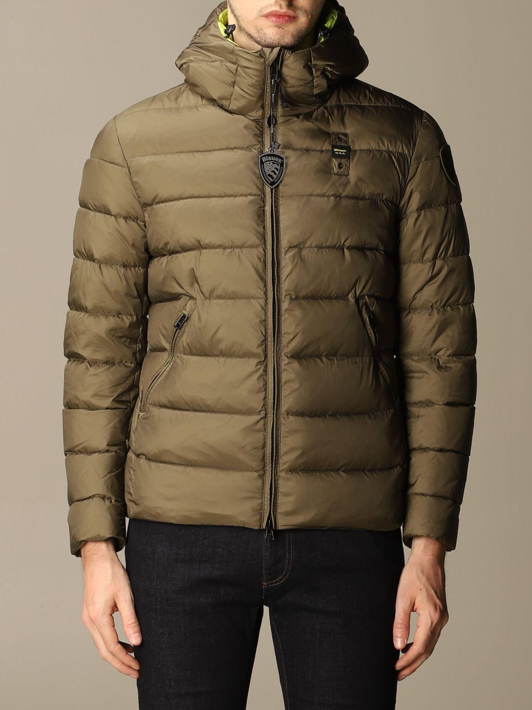 Куртка Blauer: Куртка Мужское Blauer милитари 1