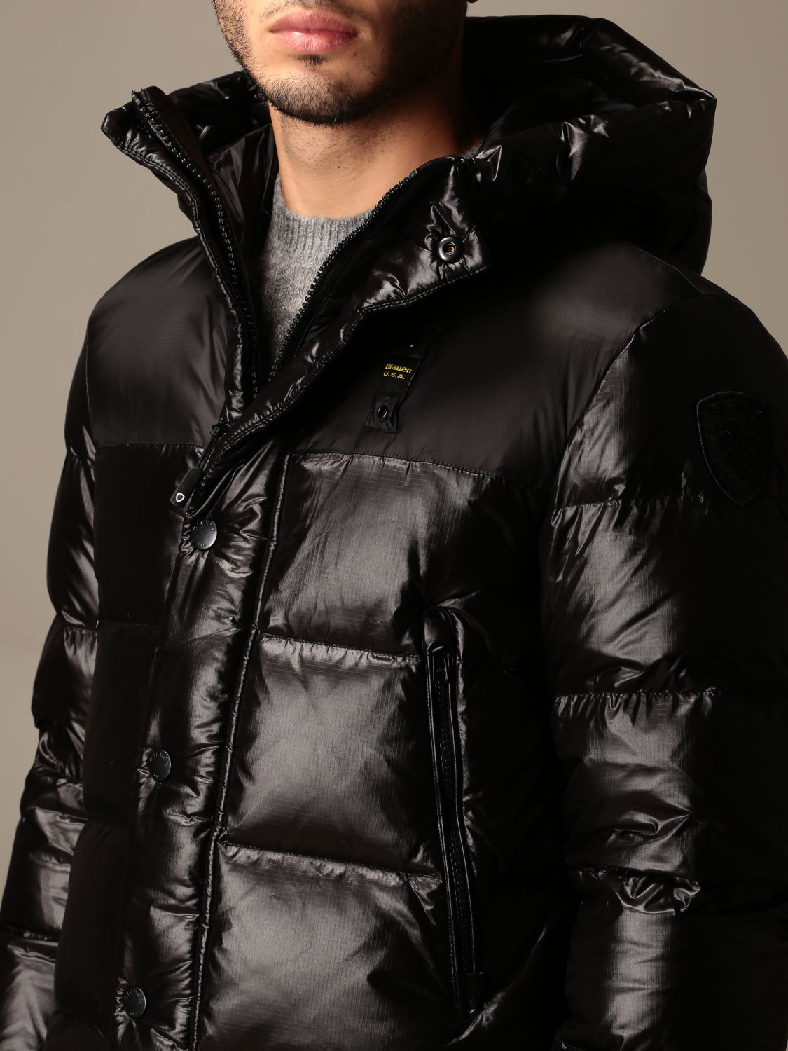 Jacket Blauer: Jacket men Blauer black 3