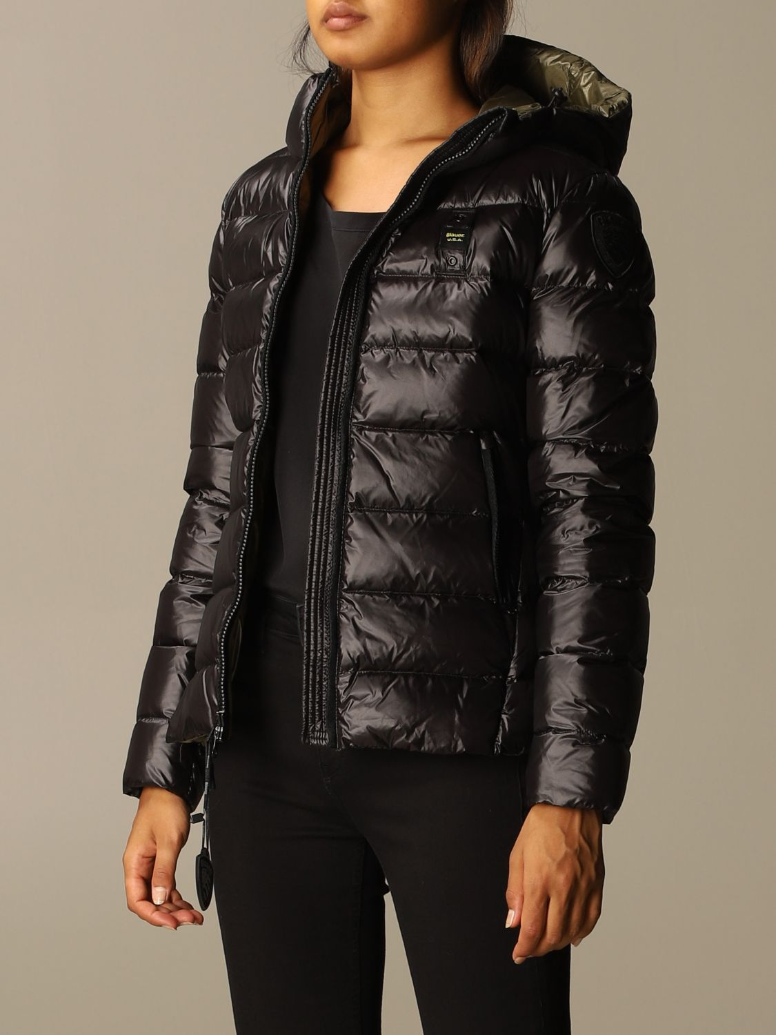 Jacket Blauer: Jacket women Blauer black 3