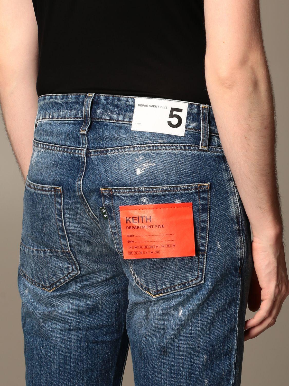 Jeans Department 5: Jeans Keith Department Five in denim used regular stretch denim 3