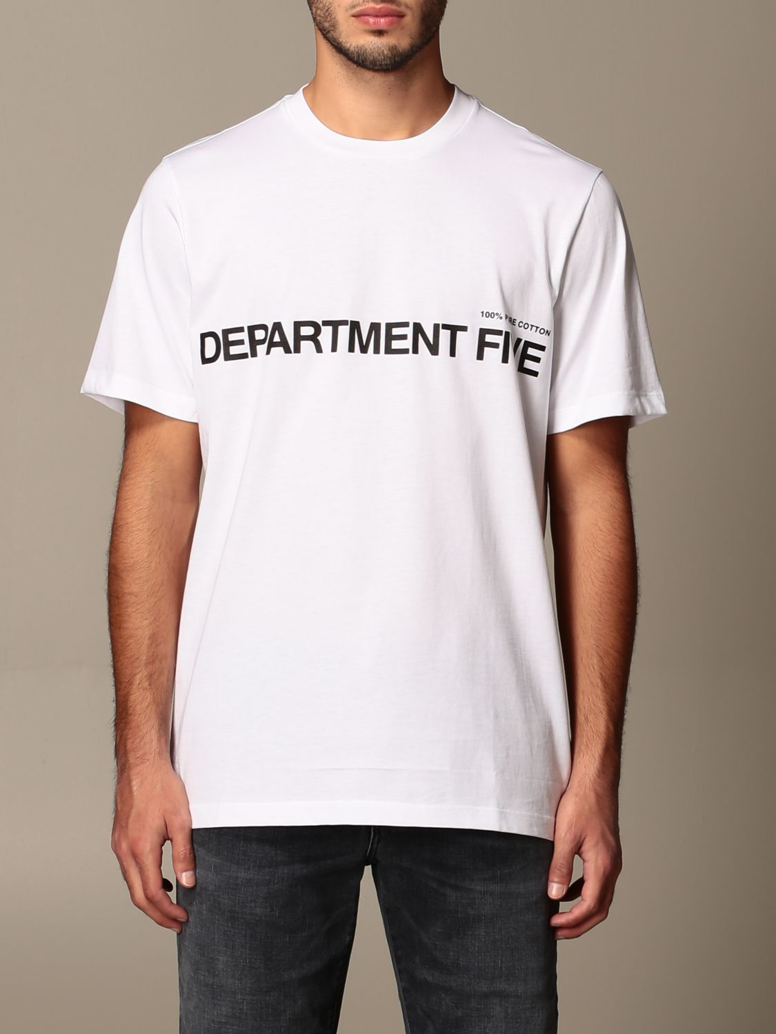 Camiseta Department 5: Camiseta hombre Department 5 blanco 1