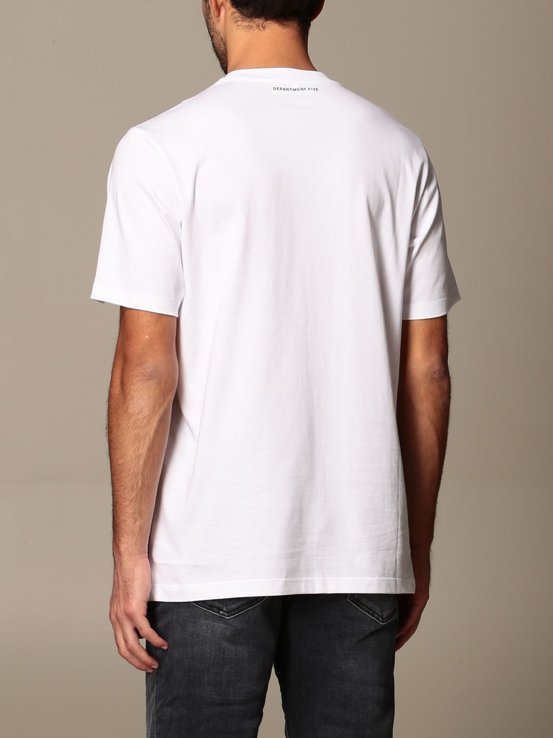 Camiseta Department 5: Camiseta hombre Department 5 blanco 2