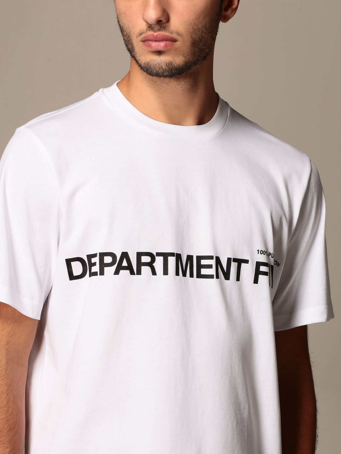 Camiseta Department 5: Camiseta hombre Department 5 blanco 3