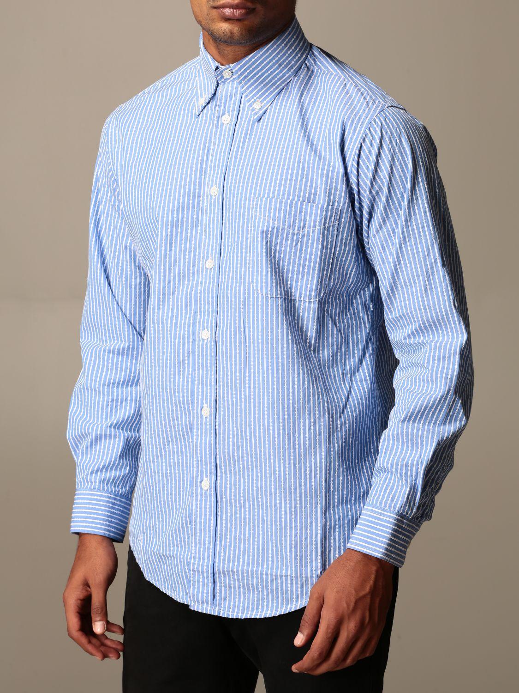 Рубашка Department 5: Рубашка Мужское Department 5 голубой 3