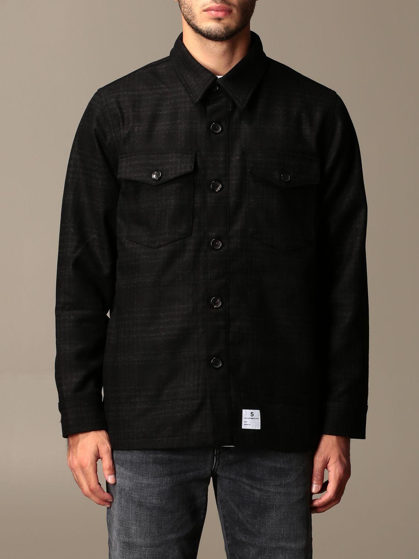 Camisa Department 5: Americana hombre Department 5 negro 1